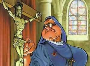 Bu rahibe başka